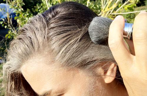 shampoing sec naturel