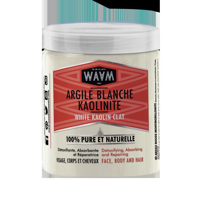 argile blanche waam